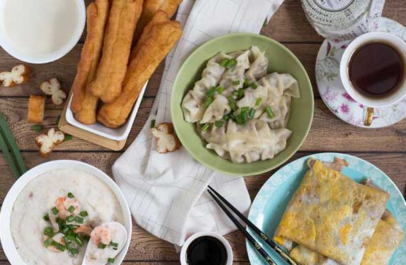 The 8 Most Popular Chinese Breakfast Items