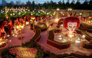 Shanghai Disneyland - alice in wonderland